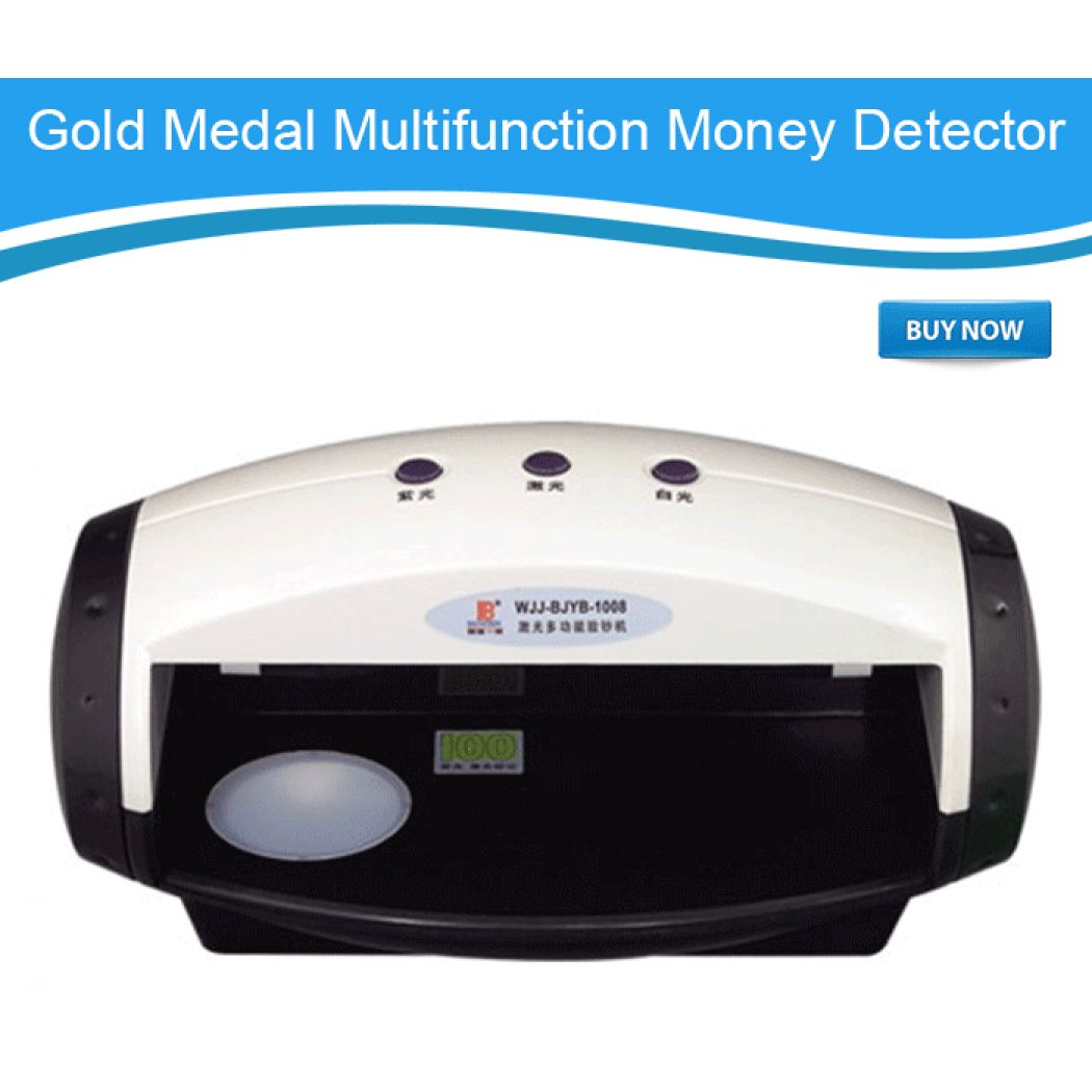 Multi-Function Gold Medal Money Detector